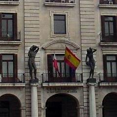 Sede de Caja Cantabria en Santander, en la Plaza Porticada