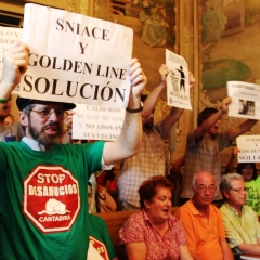 Protestas Sniace Torrelaveg
