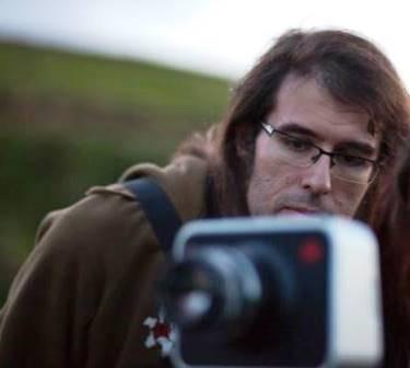 Álvaro de la Hoz durante el rodaje de 'Hazlo por mí'