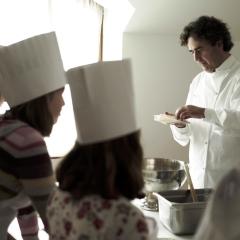 Clases de cocina en Deluz.