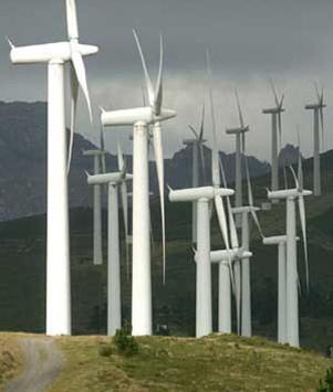 Los aerogeneradores eólicos y proyectos asociados iban a crear 4.000 empleos