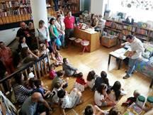 Actividad para niños en Librería Gil