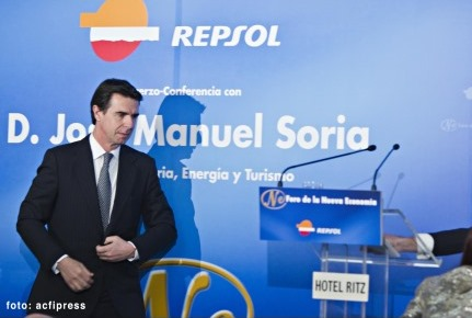 El ministro Soria en un foro organizado por Repsol || Foto: Acfipress