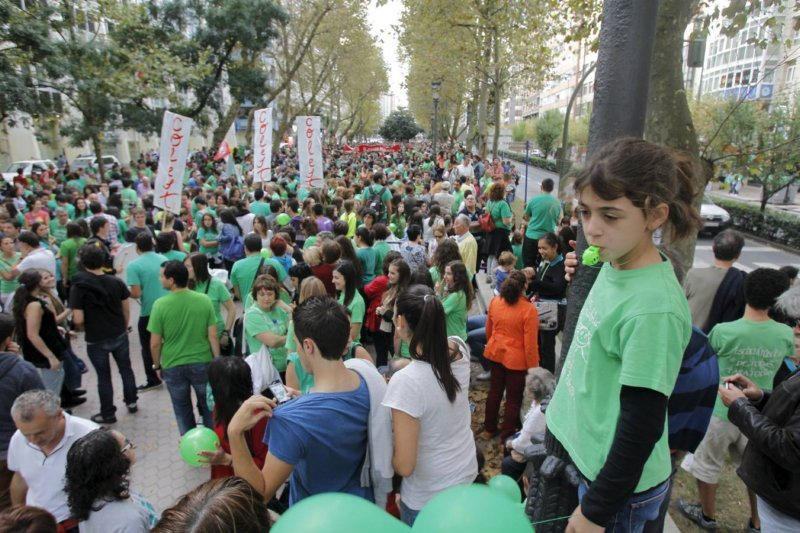 Las manifestaciones por la educación pública están siendo las más mayoritarias en los últimos años