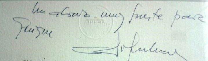 Firma Adolfo Suárz