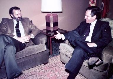 Jaime Blanco y Adolfo Suárez