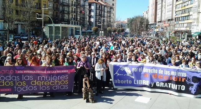 Mani Santander Aborto