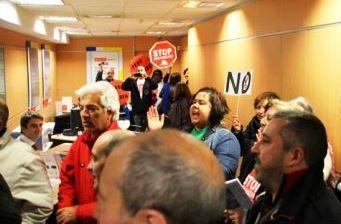 Ocupación Santander en Castro