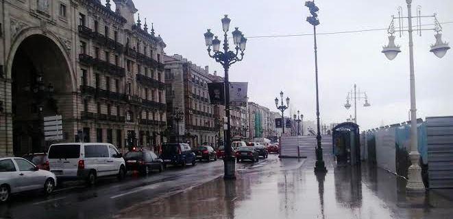 Sede Santander frente obras Jardines
