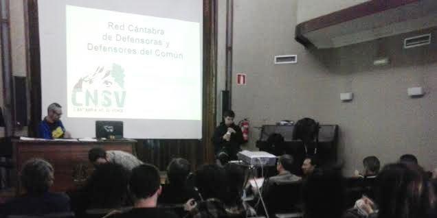 Uno de los encuentros organizados por Cantabria No Se Vende