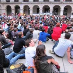 Asambleas del 15M en la Porticada