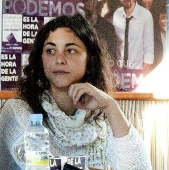 Tania González Peñas, eurodiputada, que ha sido profesora interina en Laredo