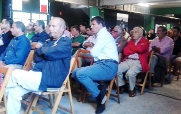 Asistentes a la Junta de Accionistas del Racing de Santander