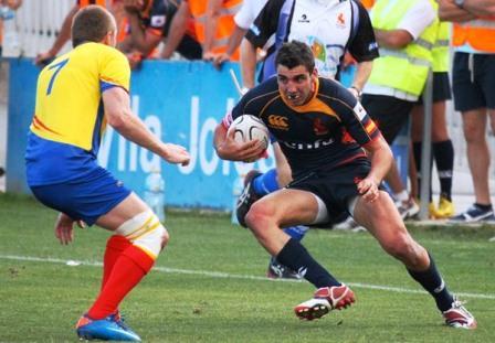 Javier Mario Carrión, jugador del Bathco Rugby Club