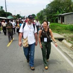 Paco Gómez Nadal y Pilar Chato en Panamá