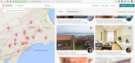 En Santander se ofrecen varios apartamentos turísticos