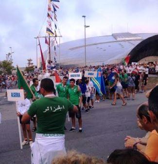 Mundial Banderas Algeria