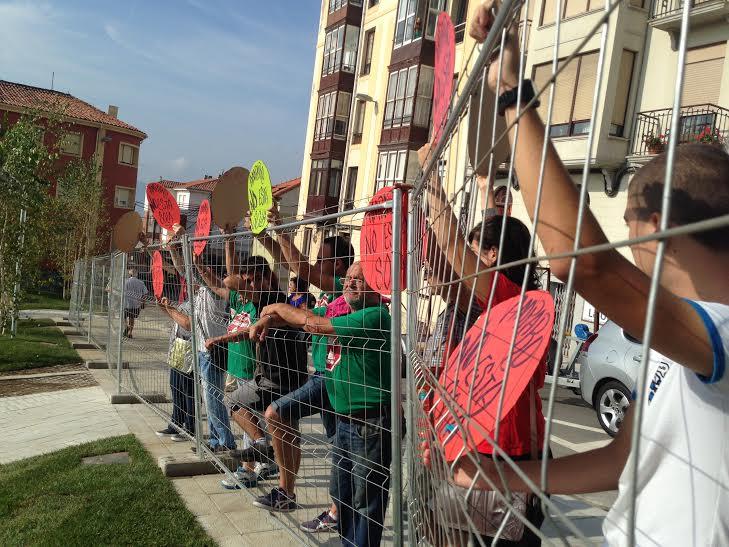 Protestas Amparo Plaza