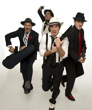 El grupo Yallana lleva veintitrés años haciendo reír al público desde el escenario.