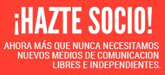 Ayúdanos a hacer una cobertura diferente de las elecciones, con más voz a movimientos sociales y sociedad civil. Hazte socio, por 7 euros/mes