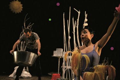 Los actores Patricia Cercas y Luis Oyarbide darán vida a la obra destinada a los más pequeños.