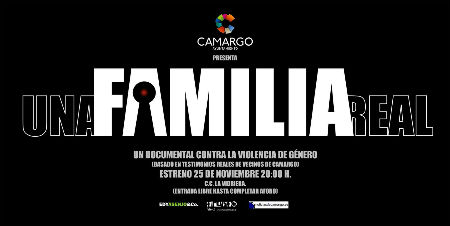 Cartel del documental 'Una familia real', basado en hechos reales.