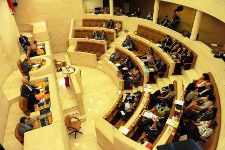Hemiciclo del Parlamento de Cantabria