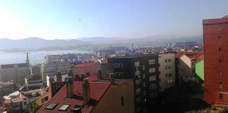 Vistas a la Bahía desde el Prado San Roque