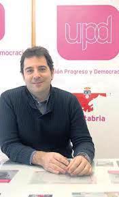Román San Emeterio, candidato de UPyD a la Presidencia de Cantabria