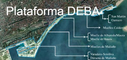 Zonas de preocupación de la Plataforma DeBa.