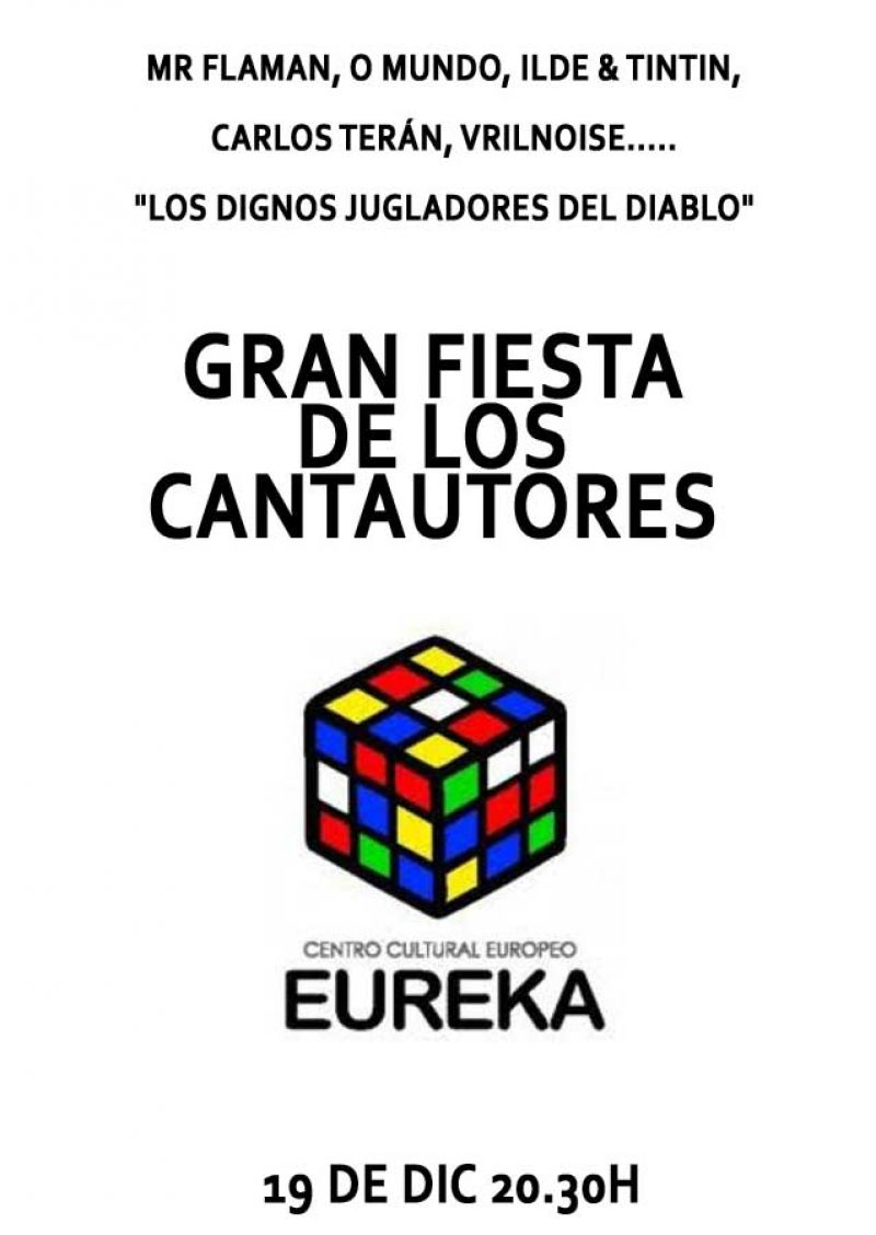 Eureka presenta la gran fiesta de los cantoautores en colaboración con Metropole