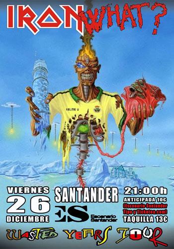 Iron What? visitan Santander