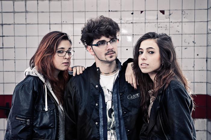Irene Iñesta, Diego García y Marina Iñesta, los formantes de Repion