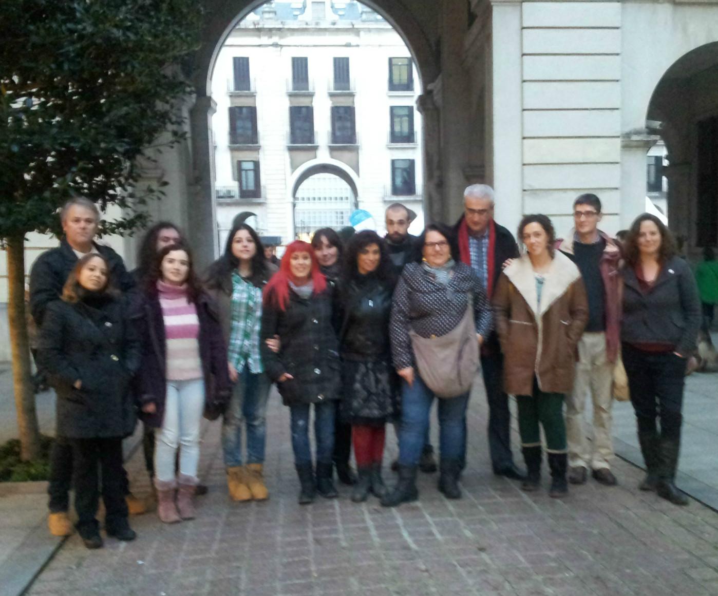 Consejo Ciudadano elegido para representar a Podemos en Santander.