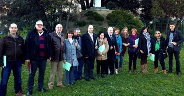 Presentación del acuerdo entre Cantabria Abora y Compromiso con Cantabria