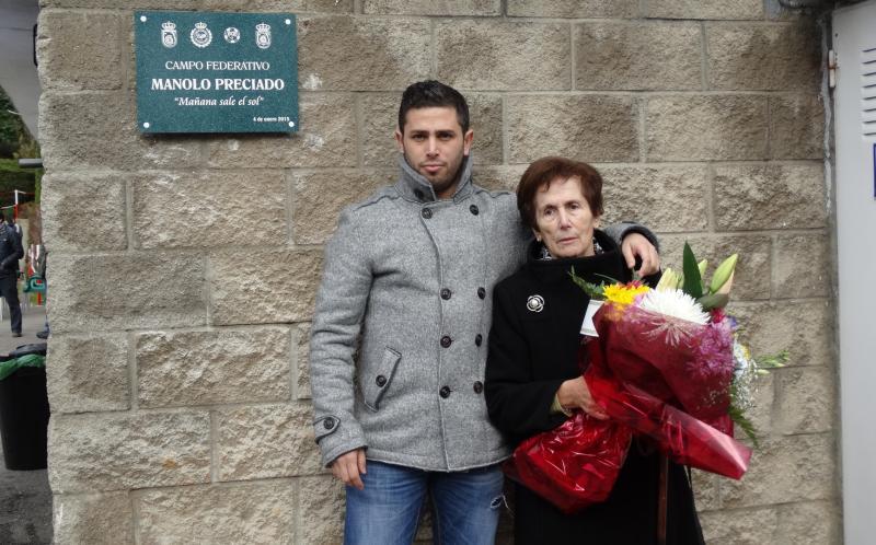 Inauguración de las instalaciones 'Manolo Preciado' de la Federación Cántabra de Fútbol