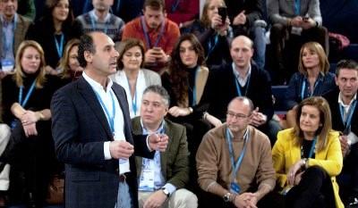 Ignacio Diego interviene en la convención del PP