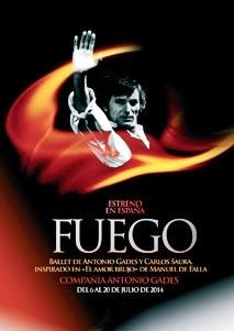 Fuego, de Antonio Gades