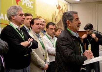 Revilla interviene en la asamblea del PRC de Santander