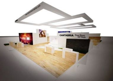 El stand de Cantabria
