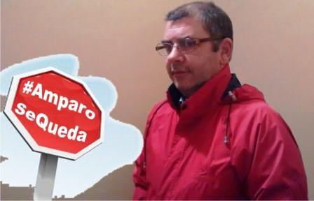 Santiago Sierra, portavoz de la Asamblea en Defensa de la Senda Costera
