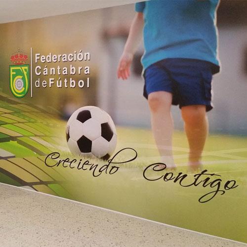 El nuevo aspecto de la Federación Cántabra de Fútbol