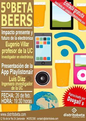 Programa de  la quinta edición de las Betabeers.