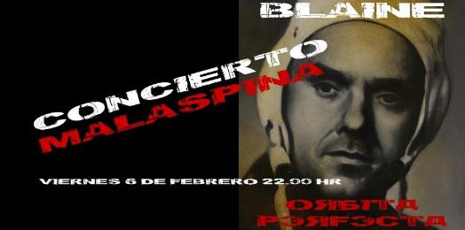 El concierto de presentación será en el Malaspina a las 10 de la noche.