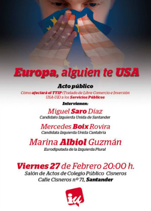 Cartel de presentación del acto que tendrá lugar en el colegio Cisneros este viernes.