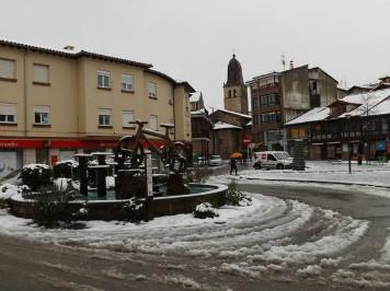 Cabezón de la Sal es uno de los municipios donde más acostumbrados a la nieve están.