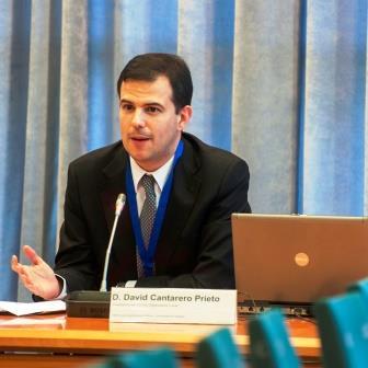David Cantarero, del Comité Organizador del encuentro