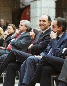 Ignacio Diego en el aniversario del Estatuto, en el Parlamento