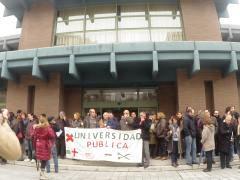 Protesta en la UC