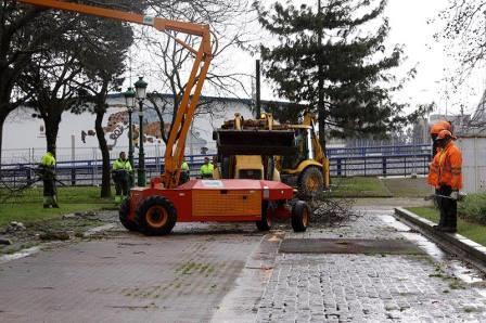 Trabajos en el parque (FOTO: Amigos de La Marga)